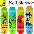 BLACK LABEL Neil Blender Artist Skateboard Deck Very Collectable Hensley Agah