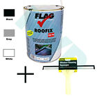 "Roofix 20/10 5 litre by Flag  with 12"" Stanley Squeegee Applicator for Roofs"