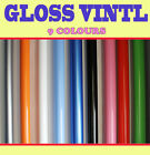 【GLOSS】Vehicle Wrap Vinyl Sticker 1.52 Meter x 10 Meter Air /bubble Free