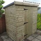 16mm Tanalised Timber wood Bike store Shed length & Width options Height 5'6-6'