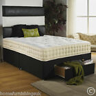 NEW 3ft6 Large Single 2000 POCKET SPRUNG DIVAN BED +MATTRESS +HEADBOARD Free Del