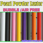 【Pearl Powder Luster 1 Meter x 1.52 Meter】Vehicle Wrap Vinyl Sticker Air Free