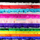 "77"" Feather Duck Feathers Wave Cloth Belt for Dress Up Show Christmas 7 Colors"