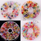 New Stylish 200pcs Multi-Colored Acrylic Faceted Charm Spacer Beads Jewelry