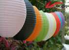 "12""/30CM Egg-Shaped Paper Lantern Lamp Wedding Party Home Decor(Pack Of 6)"