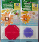 Clover Kanzashi Flower Maker Set: Choose Round Pointed Gathered Daisy Orchid