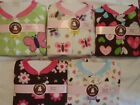 CARTERS Girls Size 12 18 Month 3T 4T or 5T Fleece Blanket Pajama Sleepwear NWT