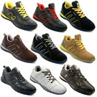 Kyпить **MEN SAFETY TRAINERS SHOES BOOTS WORK STEEL TOE CAP HIKER ANKLE SIZE 6-12UK NEW на еВаy.соm