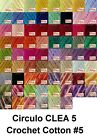 Circulo CLEA5 150g 750m Crochet Cotton Knitting Thread Yarn #5 Chart 2 of 3