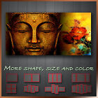' Ancient Buddha Zen & Lily Flower ' Modern Abstract Wall Art Canvas More Size