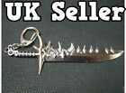 COLLECTABLE FANTASY NINJA HUNTING KNIFE BLADE WEAPON NOVELTY KEYRING GIFT IDEA