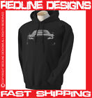 AUDI R8 MENS HOODIE STUNNING ARTWORK DTG ALL SIZE & COLOURS AVAILABLE R2