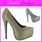 NEW LADIES  STILETTO HIGH HEEL CONCEALED PLATFORM COURT SANDALS SHOES UK 3-8