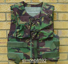 BRITISH ARMY SURPLUS WOODLAND DPM FLAK VEST BODY ARMOUR COVERS-NOT OSPREY/SAS/UK