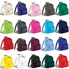 New BAGBASE Unisex School Work Everyday Backpack Rucksack 20 Colours One Size
