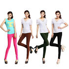 Candy Color Womens Sexy Leggings High Waist Skinny Stretch Pencil Pants Tights