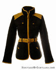 Ladies Zoe Jacket, Celtic Triangle, Black, All Sizes