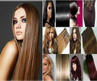 HOT 7pc 100g remy salon grade clip-in on real human hair extensions all color