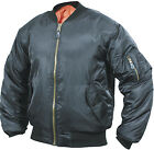 NEW MEN MA1 FLYING BOMBER PILOT MILITARY BIKER ARMY SECURITY DOORMAN JACKET