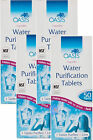 OASIS WATER PURIFICATION TABLETS 8.5mg - 50's - Multi Packs Available Bulk Buy.
