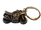 VINTAGE STYLE SOLID METAL RACING MOTOR BIKE CASTROL KEYRING FOB UK SELLER GIFT