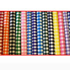 """Gingham POLYCOTTON FABRIC - 1 Inch Check - per 1m METRE - 114cm / 45"""" Wide"""