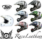 THH TX12 MOTOCROSS MX BMX OFF ROAD ENDURO ATV QUAD SCOOTER ROAD LEGAL HELMET