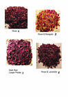 Dried Flowers - Many Varieties and Quantities - Rose,Lavender,Malva,Marigold ---