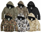 MILITARY SURPLUS WINDBREAKER WATERPROOF RAIN ANORAK COAT COMBAT JACKET TOP