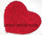 48x35cm Sweet Bedroom Rug Carpet Floor Love Heart Doormat Kitchen Bath Mat Pad