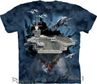 Adult AIRCRAFT CARRIER The Mountain T Shirt  All Sizes Plane Jet  Pilot 10-8263