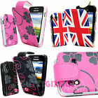 PRINTED PU LEATHER MAGNETIC FLIP POUCH CASE COVER FOR SAMSUNG GALAXY ACE S5830