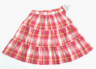 NWT: New OshKosh Pink Plaid Light Weight Summer Twirl Skirt, 3T, Rtls $22