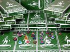 Zeugo * SOUTHERN EUROPE teams  * Subbuteo Football Scotland Figures