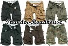Surplus Division Short Bermuda Shorts Vintage Army Style div.Farben S-7XL