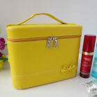 Lovely Bowknot Large Capacity Jewelry Cosmetic Box Storage Make-up Cases New
