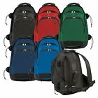 New Champion Lacrosse DELUXE BACKPACK BAG Holds 2 STICK w/ Pocket for Media