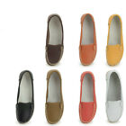 US5-9 New REAL Leather Nurse Mother Comfy Anti-skid Shoes womens ballerina shoes