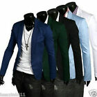 Fashion ! Stylish Men's Casual Slim fit One Button Suit Blazer Coat Jackets