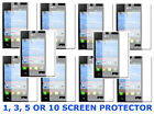 1,3,5 OR 10 Clear Screen Protector For LG Optimus Extreme L40G Prepaid Phone