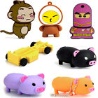 Novelty Cartoon Design 8GB USB 2.0 Memory Stick Flash Drive U-Disk Gift 8 Styles