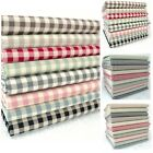 VINTAGE KENT 2 YARN DYED GINGHAM - COTTON FABRIC 3 sizes & 10 great colours