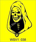 Skull Vinyl Decal,Sticker,Car Graphic Massive selection WSV1_038