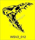 Large Skull Vinyl Car Van Stickers/ Decals Massive selection WSV2_012