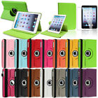 Stylish Leather 360 Degree Rotation Case Accessory For iPad Mini Wake Sleep