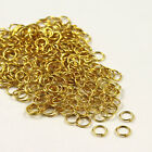 Bronze, Gold &amp; SILVER PLATED Metal JUMP RINGS! 4,5,6,7,8,9,10mm <br/> BUY 4 GET 1 FREE (Add 5 Items)✔ CHEAPEST ON EBAY✔