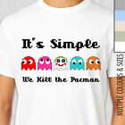 KILL THE PACMAN T-Shirt. Multiple Colours & Sizes. Joker Batman Pac man Mashup