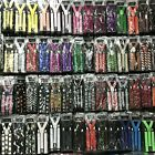 Внешний вид - 100+ Colors Mens Womens Clip-on Suspenders Elastic Y-Shape Adjustable Braces