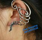 1 pc Eropean Fashion Gothic Punk Antique Silver/Bronze Toronto Ear Cuff Earrings