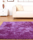 SMALL - EXTRA LARGE THICK PLUSH CHUNKY SOFT LUXURIOUS LAVENDER LILAC SHAGGY RUG